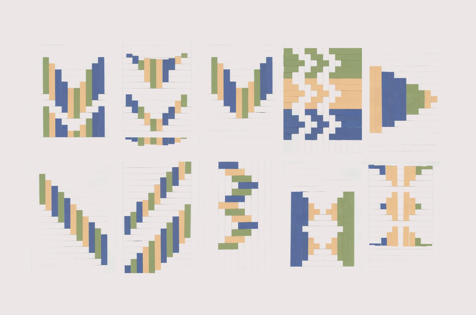 Geweven patroon
