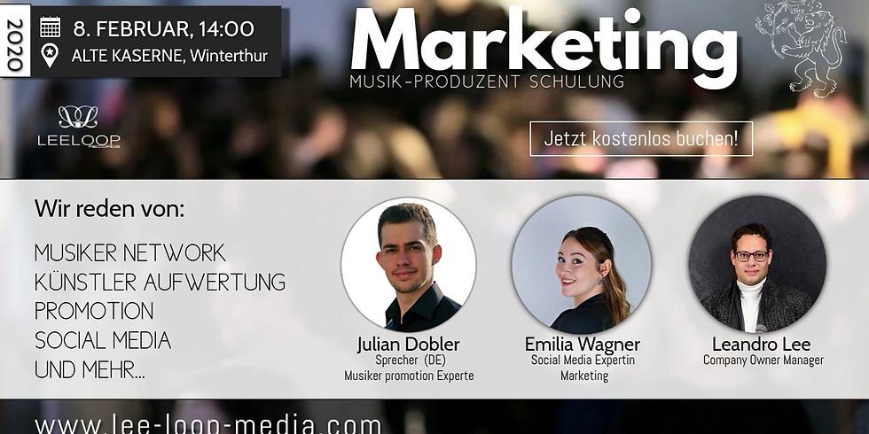 Marketing-Promotion Schulung für Musikschaffende