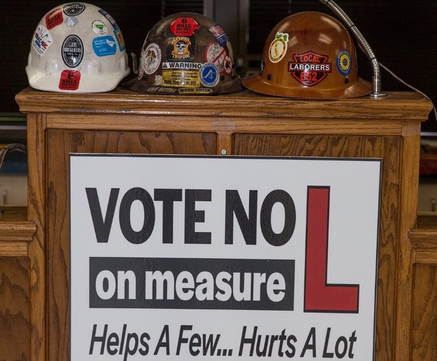 November 6th Vote NO on Measure L