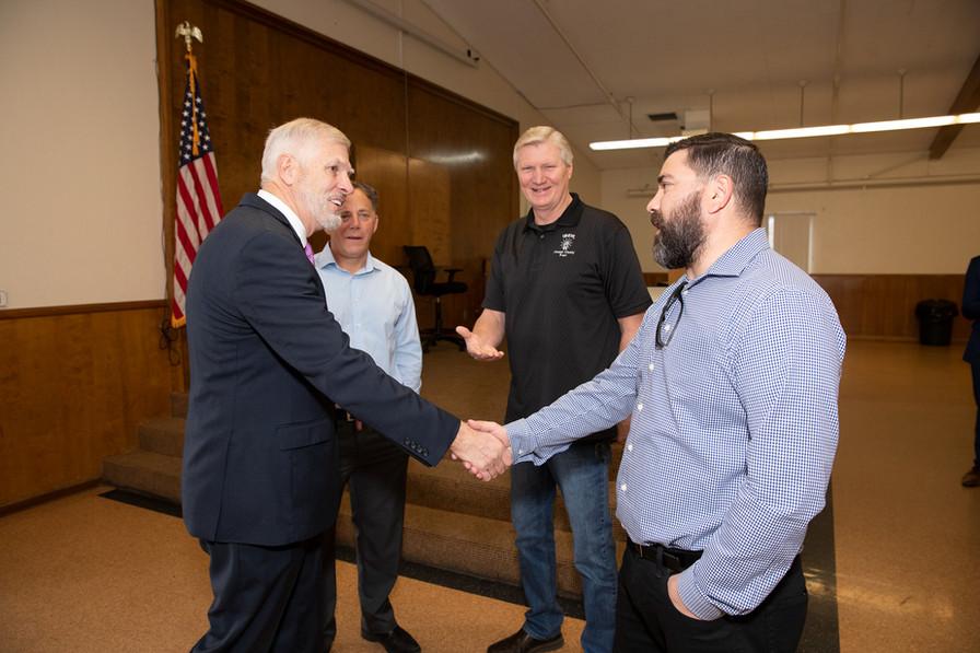 Senators Umberg & Newman Visit