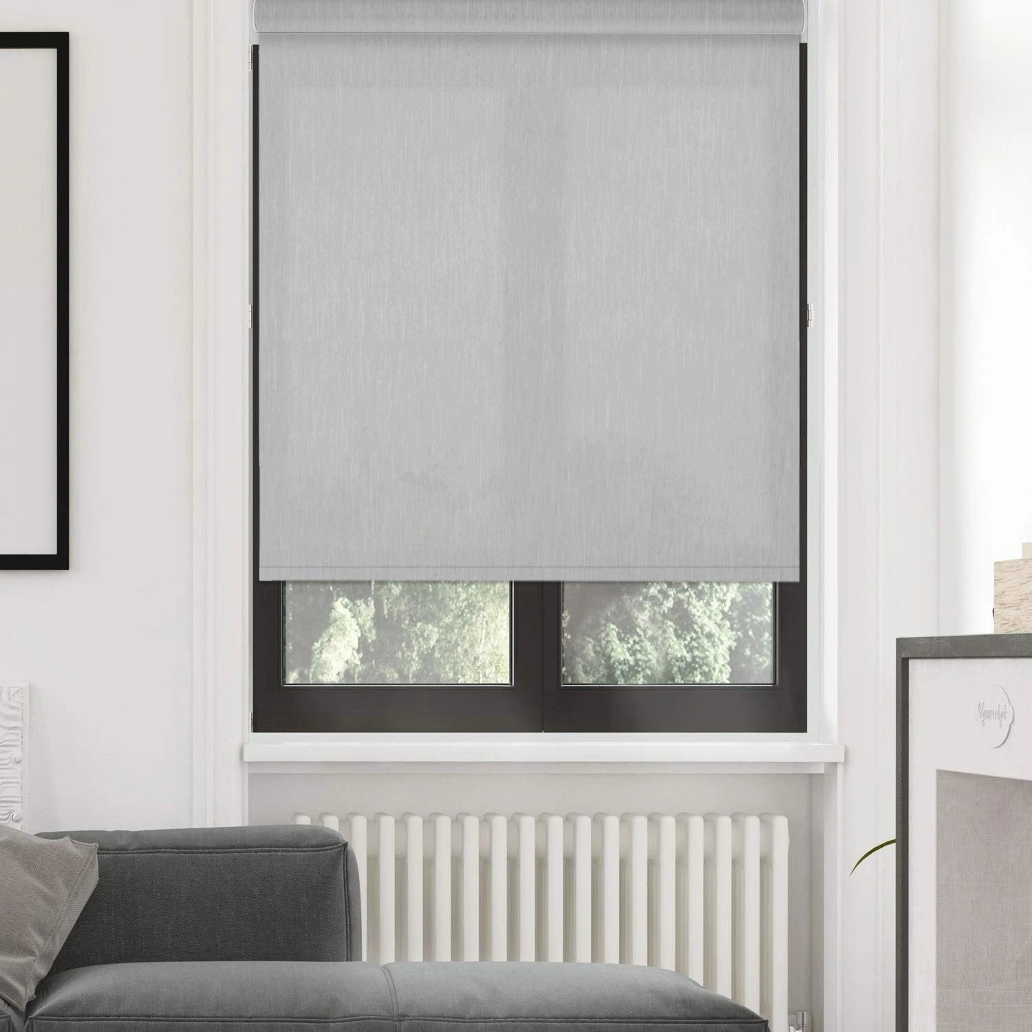Roller Shade | Silver