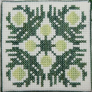 Ulu (Breadfruit) Cross Stitch