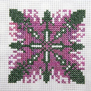 Heliconia Cross Stitch