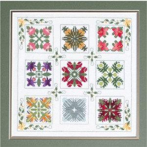 Gallery of Hawaiian Flowers Cross Stitch