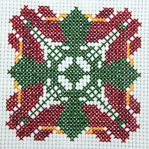 Anthurium Cross Stitch