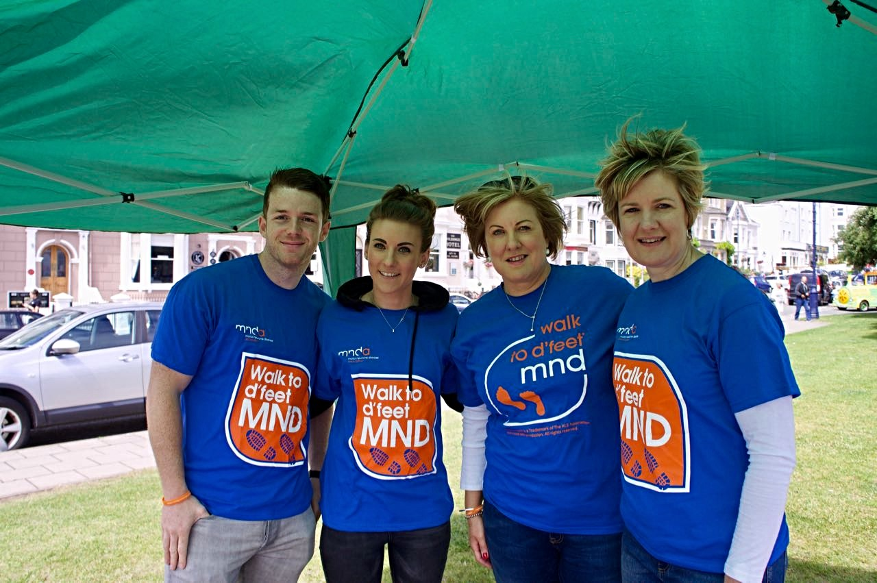 Llandudno walk to d'feet MND