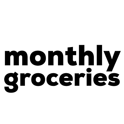 Monthly Groceries
