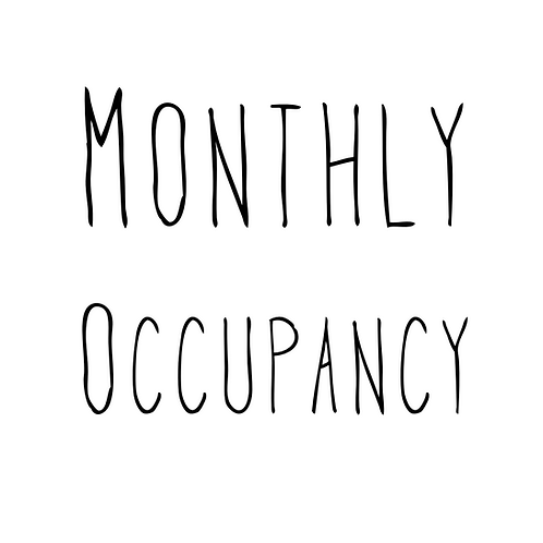 Monthly Occupancy