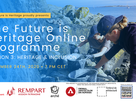 Only two sessions left of the Future is Heritage Online Programme