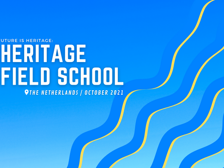Call for applications for the Heritage Field School is out now!