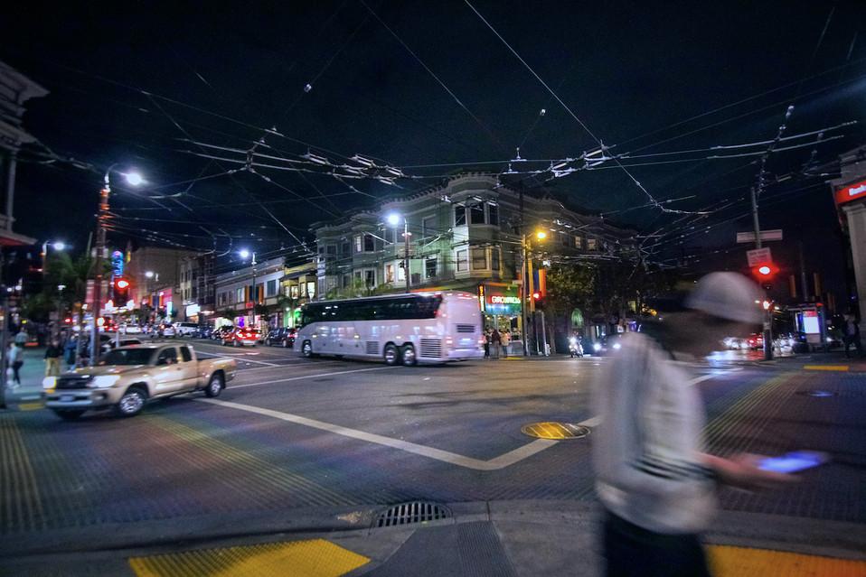 San Fran At Night
