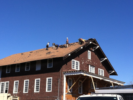 The Roof is coming off!