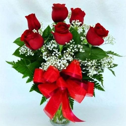 Roses- Half a dozen