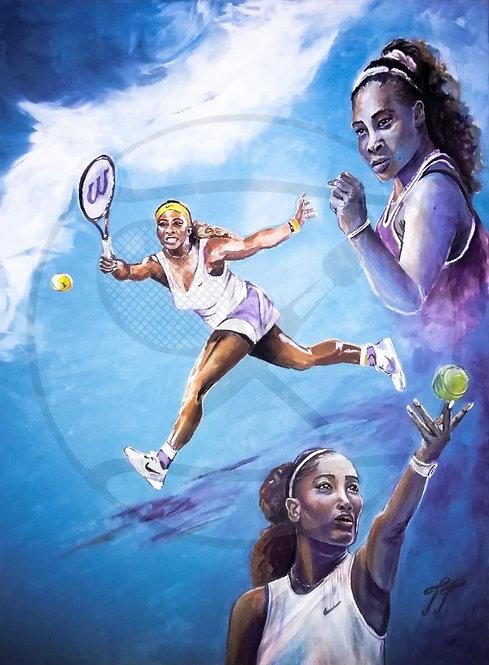 THE HUNTED HUNTER - Serena Williams, USA