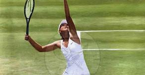 The Top Model Athlete Oil on Canvas Maria Sharapova Russia | The Berlin Tennis Gallery