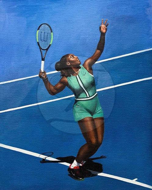 THE POWER SERVE - Serena Williams, USA