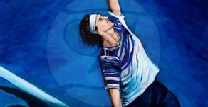 The Rocket Acrylic Art on Canvas Alexander Zverev Germany | The Berlin Tennis Gallery