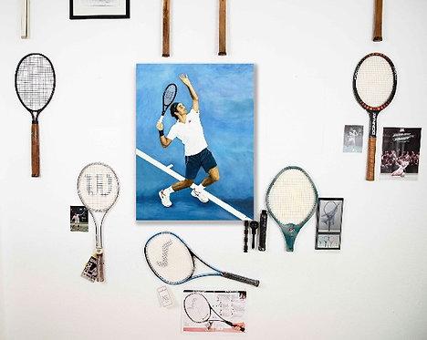 THE UNPREDICTABLE SERVE – Roger Federer, Switzerland