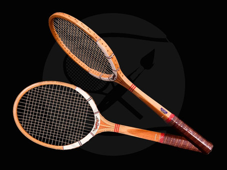 The Move from Wood to Graphite | The Berlin Tennis Gallery