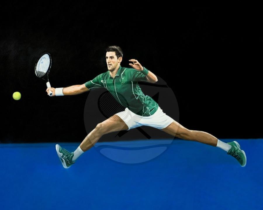 Novak Djokovic 2019 Wimbledon Champion