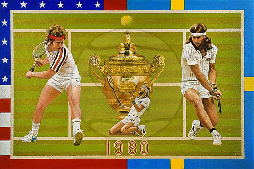 THE DRAMA OF WIMBLEDON 1980 - Borg vs. McEnroe