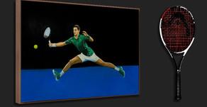 Head and Djokovic The Golden Partnership | The Berlin Tennis Gallery