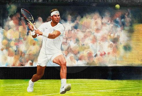 THE VOLCANO - Rafael Nadal, Spain