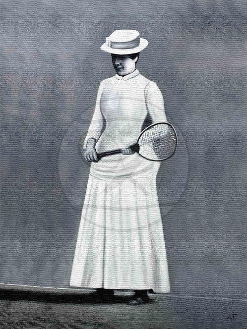 THE FIRST CHAMPION - Maud Watson, Sweden