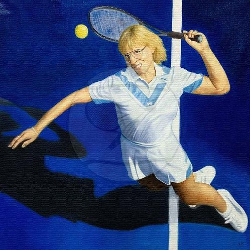 THE EFFECTIVE CHAMP - Martina Navratilova, USA