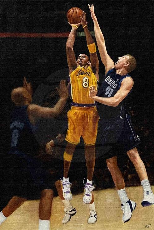 THE LEGENDS RUMBLE | Kobe Bryant and Dirk Nowitzki