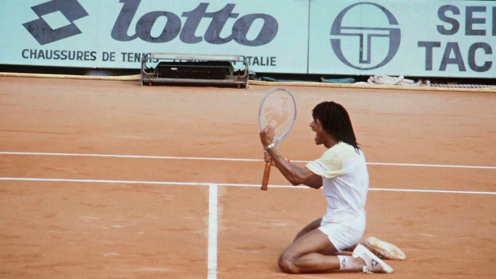 French Open Champion 1983 Yannick Noah