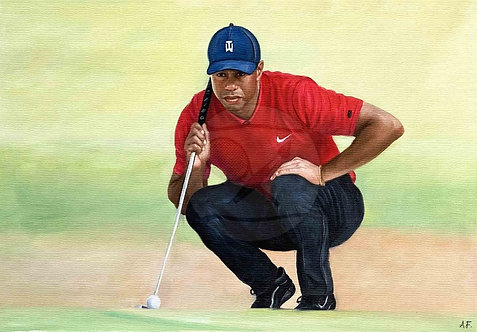 THE TIGER – Tiger Woods, USA