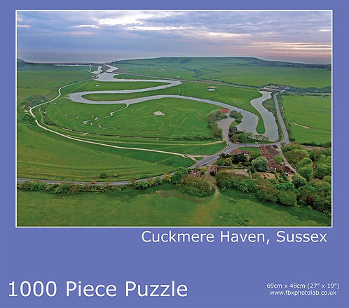 Cuckmere Haven 1000 Piece Jigsaw