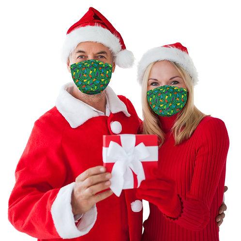 Christmas Face Mask - Lights