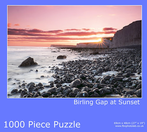 Birling Gap 1000 Piece Jigsaw