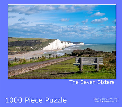 7 Sisters Bench 1000 piece Jigsaw
