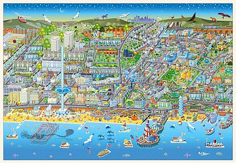 Brighton City 1000 Piece Jigsaw