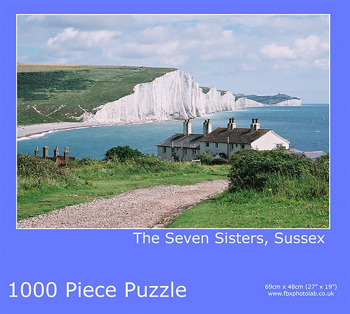 7 Sisters Cottages 1000 piece Jigsaw
