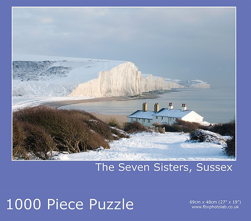 7 Sisters in the snow 1000 piece Jigsaw