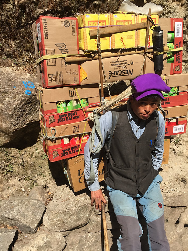 Lieu de rencontre près de Katmandou
