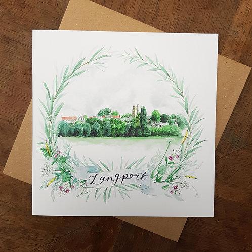 Langport Greeting Card