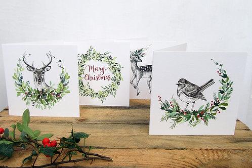 4 Christmas Cards