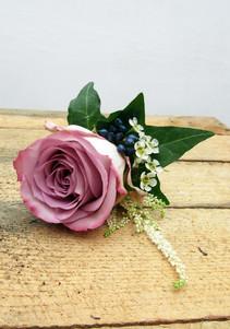Memory Lane Rose Buttonhole
