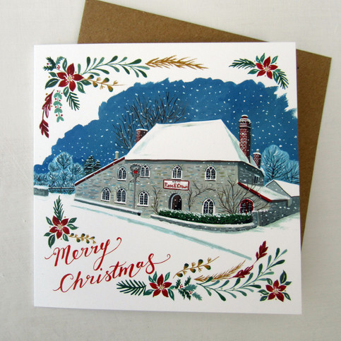 Eli's, Rose and Crown, Christmas Card