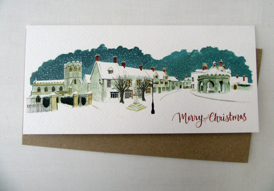 Somerton Market Place Christmas Card