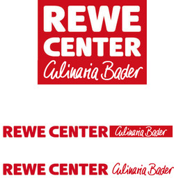 meine Handschrift mit REWE Logo
