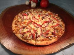 Stockmans Satay Chicken Pizza