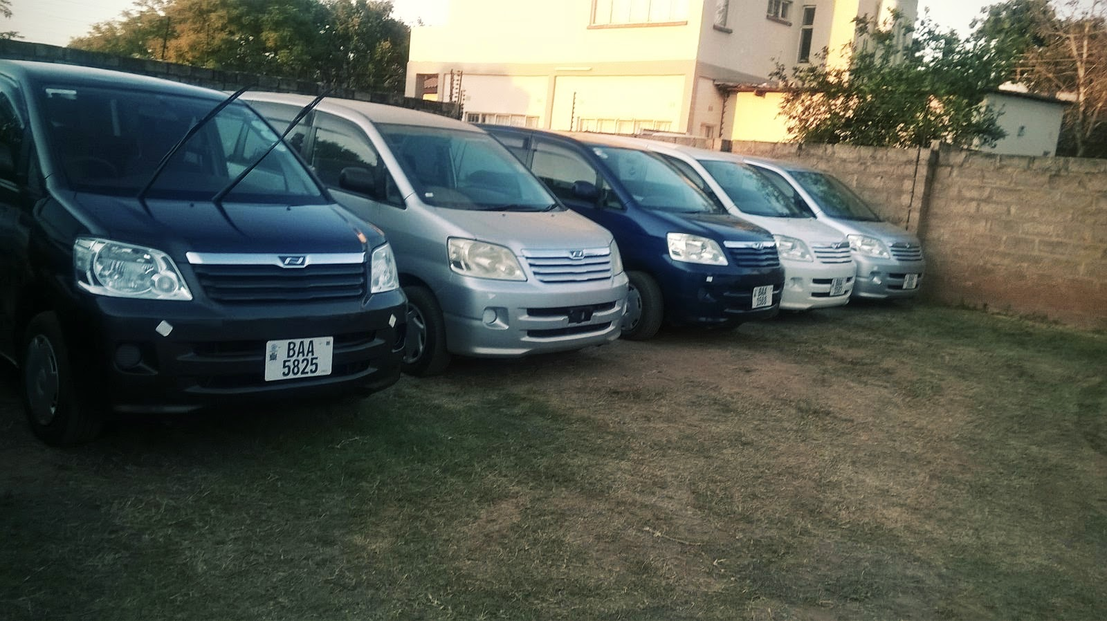 Caribuni car rental, Zambia