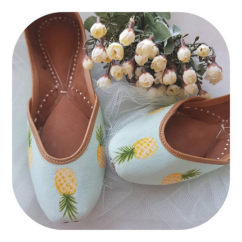 Pineapple jutti