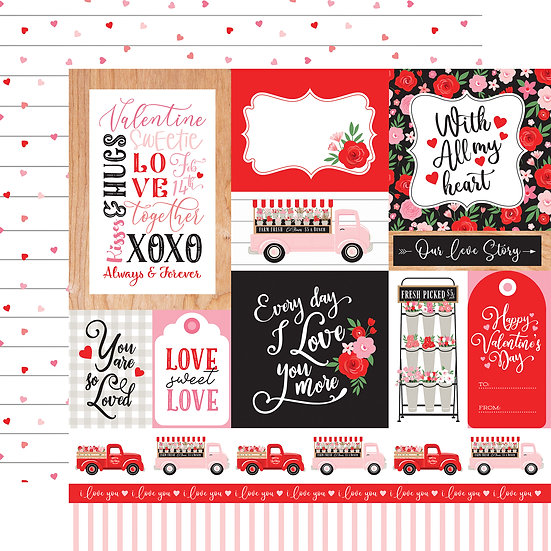 Multi Journaling Cards - Cupid & Co. Collection